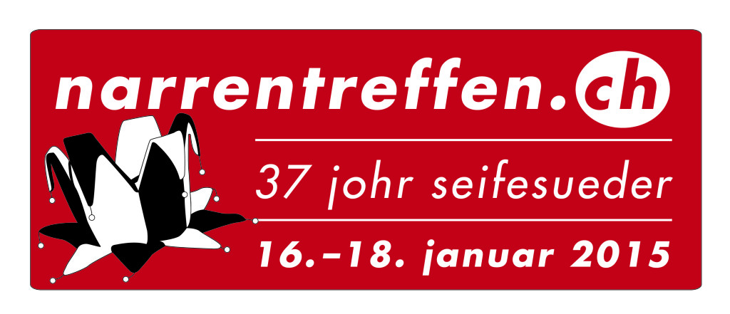 Das offizielle Narrentreffen 2015 Festlogo